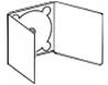 Plantilla de digipack 3 cuerpos con bandeja central