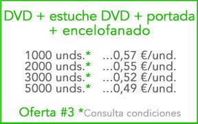 Oferta DVD con estuche