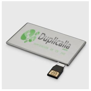 Tarjeta con USB extraíble