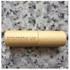 USB Cartón con detalle a láser